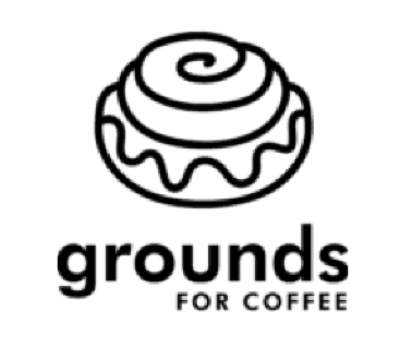 grounds for coffee logo